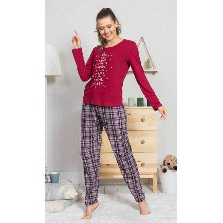 Dámské pyžamo dlouhé Alice. VIENETTA SECRET