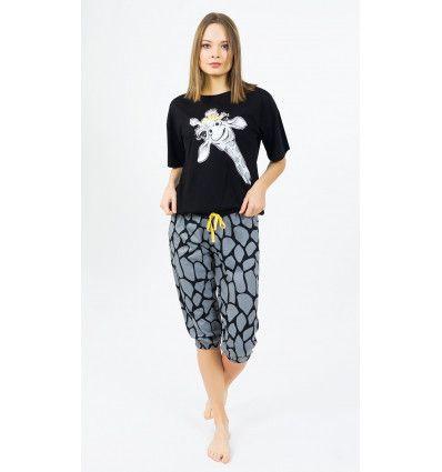 Dámské pyžamo kapri Žirafa. VIENETTA SECRET