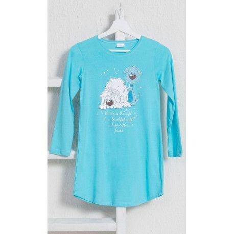 Dětská noční košile s dlouhým rukávem Little dogs. VIENETTA SECRET