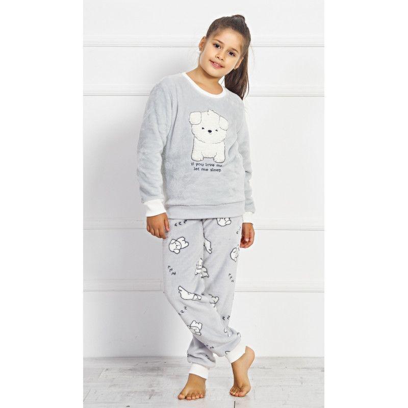 Dětské dlouhé pyžamo Štěňátko VIENETTA SECRET