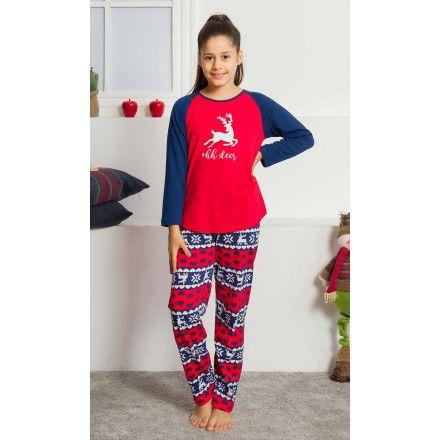 Dětské pyžamo dlouhé Ohh deer. VIENETTA SECRET