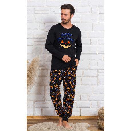 Pánské pyžamo dlouhé Halloween. VIENETTA SECRET