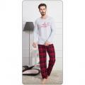 Pánské pyžamo dlouhé Training VIENETTA SECRET